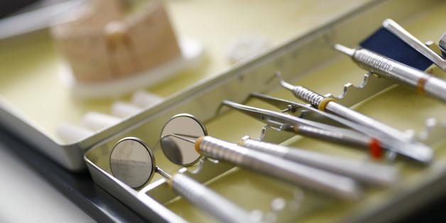 Dentist tools are photographed in the surgery room of dentist Sevan Arzuyan in Hanau near Frankfurt, Germany, March 7, 2016. REUTERS/Kai Pfaffenbach